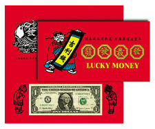 *1 DOLLAR LUCKY MONEY NOTES -8888 BEP BILL- GOOD FORTUNE SUCCESS NOTES- NEW-RARE