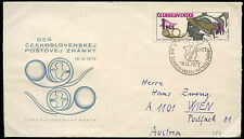 Czechoslovakia 1972 Stamp Day FDC First Day Cover #C34767