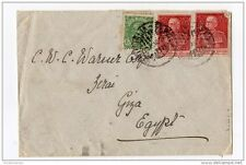 Italy 1926 Cover to Egypt Cairo Cancel