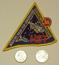 """Patch: Hubble Space Telescope (HST) Servicing Mission 3A, 4"""" x 3.5"""" (STS-103)"""