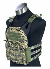 FLYYE MOLLE Swift Plate Carrier JPC Vest - AOR2 US Navy Seal Woodland Camo – M