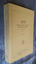 ATTI DELLA SOCIETà LIGURE DI STORIA PATRIA XLV/III 2005 genova liguria marittima