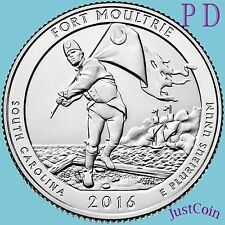 2016 P&D FORT MOULTRIE SUMTER NATIONAL MONUMENT TWO QUARTERS SET PRESALE NOV14th