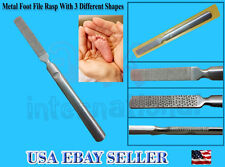 "7"" Metal Foot File Callus Remover Surface Foot File,double side using-Top Notch"