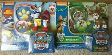 2016  Paw Patrol Action Pack Pups and Badge - APOLLO & TRACKER -  New Fun Pups
