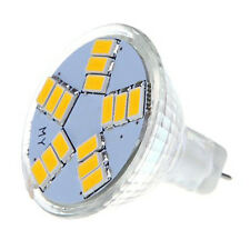 SODIAL(R)7W MR11 GU4 600LM LED Birne Lampe 15 5630 SMD Warmweiss Licht GY