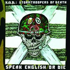 Speak English Or Die (30th Anniversary Edition) - S.O.D. (2015, CD NIEUW)
