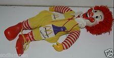 "WOW Rare Original Vintage 1978 21"" Plush Toy Doll Ronald McDonald NO Whistle"