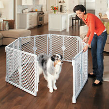 Big Tall Play Yard Playpen Pet Dog Child Baby Secure Enclosure Gate Large Pen