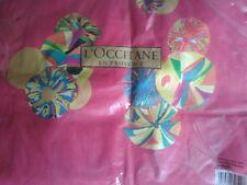 Rosa Caldo Tote Bag L'Occitane Natale 2014 Sacchetto per la vita Shopper Shopping Nuovo