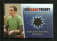 The Big Bang Theory Season 5 Wardrobe Card M8 Sheldon Cooper / Jim Parsons