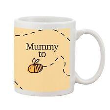 Mummy To Be Mug New Baby Novelty Gift 10oz Earthenware Bumble Bee Design