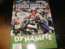 FLORIDA GATORS football 1998 preseason yearbook steve spurrier