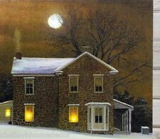Amber Moon Farmhouse Lighted Picture Radiance Canvas 73106  NEW
