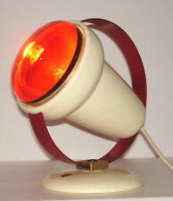 stylische Art deco Lampe - Philips infraphil - design Charlotte Perriand um 1955