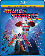 Transformers: The Movie (Blu-ray Disc, 2016, 30th Anniversary Edition) New