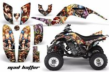 AMR Racing Yamaha Raptor660 Graphic Kit Wrap Quad Decals ATV 2001-2005 MAD HATTR