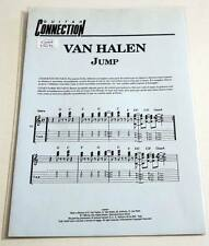 Partition sheet music VAN HALEN : Jump * 80's Guitar / Guitare