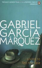 GABRIEL GARCIA MARQUEZ ___ LIVING TO TELL THE TALE __ NUEVO