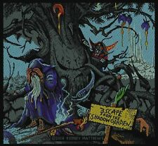 MAGNUM 'ESCAPE FROM THE SHADOW GARDEN' patch. Cover artwork by Rodney Matthews