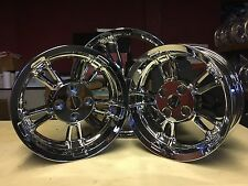 HARLEY FREEWHEELER TRIKE FREE TOURING CHROME WHEEL RIM WHEELS RIMS FLRT WHEEL