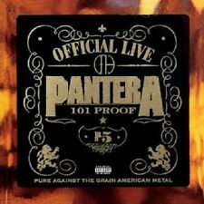 "PANTERA ""GREAT OFFICIAL LIVE-101PROOF"" 2 VINYL LP NEUWARE"