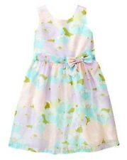 Gymboree Tea and Cake Party Lavender Floral Organza Dress Girls 12 NEW NWT