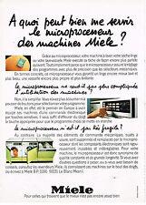 PUBLICITE ADVERTISING 064  1979  MIELE   lave linge lave vaisselle