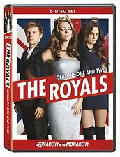 The Royals Collection of Season 1 2 DVD Set TV Show Series First Second One Two