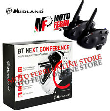 INTERCOMUNICADOR MIDLAND BT SIGUIENTE CONFERENCIA BTNEXT GEMELO PAR BLUETOOTH