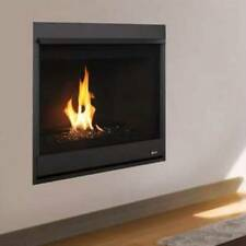 "Superior Contemporary35"" Direct Vent, Millivolt, Merit Series Fireplace, LPor NG"