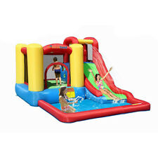 Commercial Grade Inflatable Water Slide Bounce House Bouncy Kids Park Wet Dry