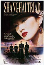 THE SHANGHAI TRIAD Movie POSTER 27x40 B Gong Li Li Bao-Tian Li Xuejian Shun Chun