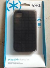 Speck PixelSkin Case -Black for iPhone 4S/4 SPK-A0792 NIP