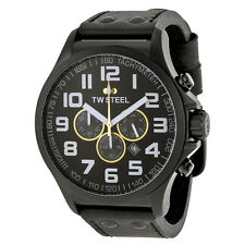 TW Steel Lotus F1 Chronograph 48mm Black PVD Mens Watch TW678R