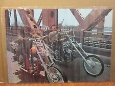 Easy Rider 1969 dragster drive original motorcycle club poster 10921