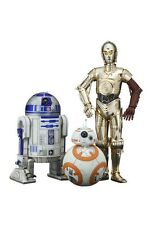 KOTOBUKIYA /ART FX+ Star Wars The Force Awakens C-3PO, R2-D2 and BB-8 1/10 SCALE