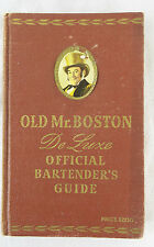 Old Mr. Boston Deluxe Official Bartender's Guide 1946 Cocktails Leo Cotton