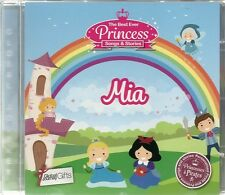 MIA - THE BEST EVER PRINCESS SONGS & STORIES PERSONALISED CHILDREN'S CD