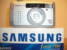 NEW SAMSUNG VEGA 700 QUARTZ DATE~PANORAMA 35MM FILM CAMERA~35-70MM MACRO LENS F5
