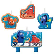 "Finding Dora Birthday Candle / Cake Topper 2""X 3"" ( 4- pc Set )"