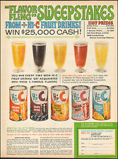 1963 Vintage ad HI-C  Punch,Sweepstakes Entry Blank Grape Drink   (071116)