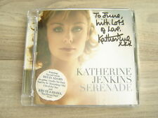 KATHERINE JENKINS CD *SIGNED* Serenade AUTOGRAPH autographed classical pop opera