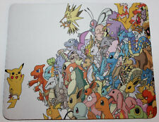 Custom printed pokemon characters Anime Mouse pad mouse mat