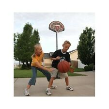 Youth Portable Basketball System Adjustable Backboard Hoop Height Outdoor Sports