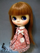 C.C.T Blythe Pullip Dal doll outfit dotted pink Jacket