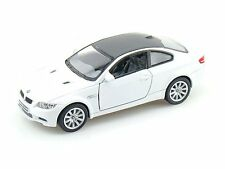 Kinsmart BMW M3 Coupe Die-cast pull back Action Metal Car (White)