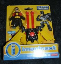FISHER PRICE IMAGINEXT DC SUPER FRIENDS RED ROBIN VHTF