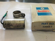 CHRYSLER OUTBOARD MARINE DIVISION  CAPACITOR,CONDENSER  PART NO 12042-1 DRAWER 7