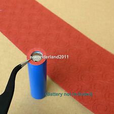 200pcs single joint 18650 hollow solid insulation red paper adhesive cushion mat